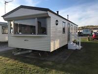 Caravan for hire at presthaven sands holiday park