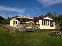 3 bedroom Waterfront Cottage House Camp for rent by the month