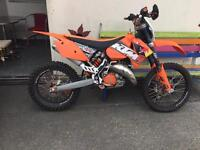 ktm 125 fully road legal 2008/private plate