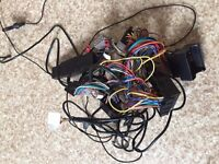 2009 bmw e90 320d stereo wiring loom and (parrot for bluetooth power cable)