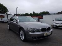 BMW 7 Series 3.0 730Ld SE LWB Saloon 4dr/ STUNNING EXAMPLE/MOT JULY 2019 /2008 (58 reg), Saloon