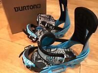 Man Burton bindings size 8-11 medium
