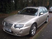 2004 ROVER 75 CONTEMP-Y ESTATE WITH YEARS MOT F.S.HISTORY+BILLS POSS/ PART X