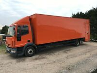 IVECO 120E18 BOX TRUCK WITH TAIL LIFT 2006 30 FOOT LONG BOX EXCELLENT CONDITION £3750 + VAT OFFERS