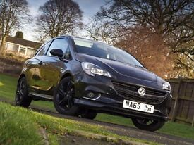 2015 (65) VAUXHALL CORSA 1.2i 16V Limited Edition 3-Door / BLACK