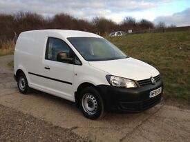 2011 61 VW Caddy C20 1.6 102ps TDI, very low mileage, NO VAT, new cam belt, immaculate