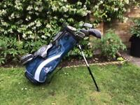 """US Kids Golf UL 48"""" 5 Club and Stand Set - Great Condition"""