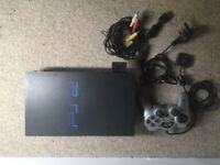 PS2 with controller and 8 GB expansion Card!!!