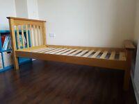 Pine single bed frame Marks and Spencer