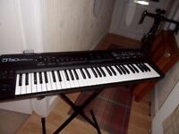 Roland D-50 16-voice Polyphonic Programmable MIDI Linear Keyboard Synthesizer