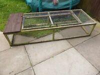 rabbit/guinea pig outdoor run