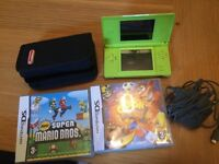 Nintendo DS Lite - Limited Edition with two games. Immaculate Condition.