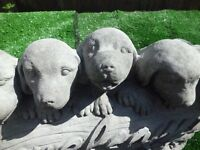 `Natural Stone Colour` - 5 Puppy Dogs - Concrete (also available in Black). updated today 22 july