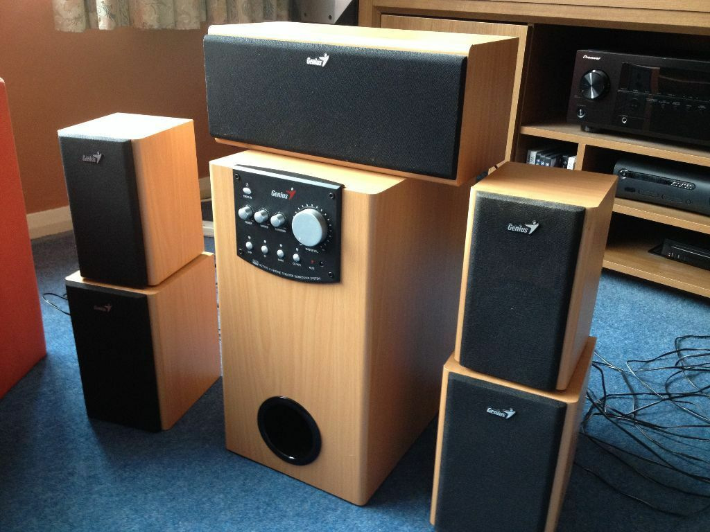 Genius 5 1 Speaker System In Chesham Buckinghamshire