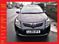 Automatic - Toyota Avensis T4 CVT - 63000 Miles - Navigation - Reverse CAMERA -- LEATHER Seats -- PX
