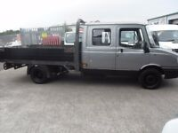 """LDV CONVOY 400 TD LWB DROPSIDE PICKUP CREW CAB 1 OWNER ONLY 104000 MILES 2.4CC TRANSIT ENGINE """