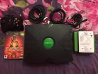 Xbox Original CoinOps ! Upgraded 250GB HDD Over 2000 Retro Games