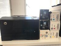 Hp LaserJet Pro 200 colour printer