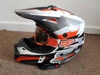 Fox Racing Motorcross Helmet XS