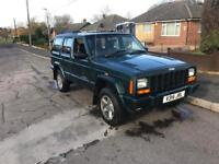 Jeep Cherokee xj 2.5td mot till may 2018 tow bar £600 today
