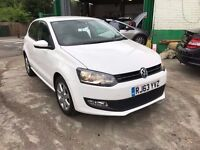 2014 VW POLO MATCH EDITION 1.4 AUTOMATIC 24700 MILES 1 OWNER FINANCE £500 DEPOSIT £183 X 60 MONTHS