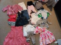 baby girl clothes- excellent condition/new
