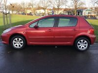 Peugeot 307, 61722 mile's, very clean inside and out