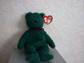 TY Beanie 2001 Holiday Teddy (born 24 December 2000)