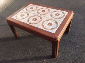 Vintage G-Plan Tiled coffee table