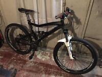 GT Sensor Full Suspension Mountain Bike