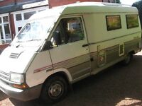WANTED ALL CAMPER VANS AND MOTORHOMES CALL 01704331519