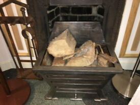Superb Heavy Metal Fire Basket Dog Grate Fireplace Fire Grate