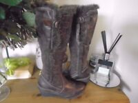 GORGEOUS NEXT BOOTS BNWT 3 1/2