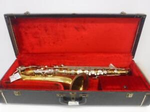 Italian Tenor Saxophone. We Sell Used Musical Instruments. 18014 CH76405