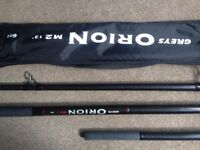 Grays Orion 13 ft fishing rod and reel