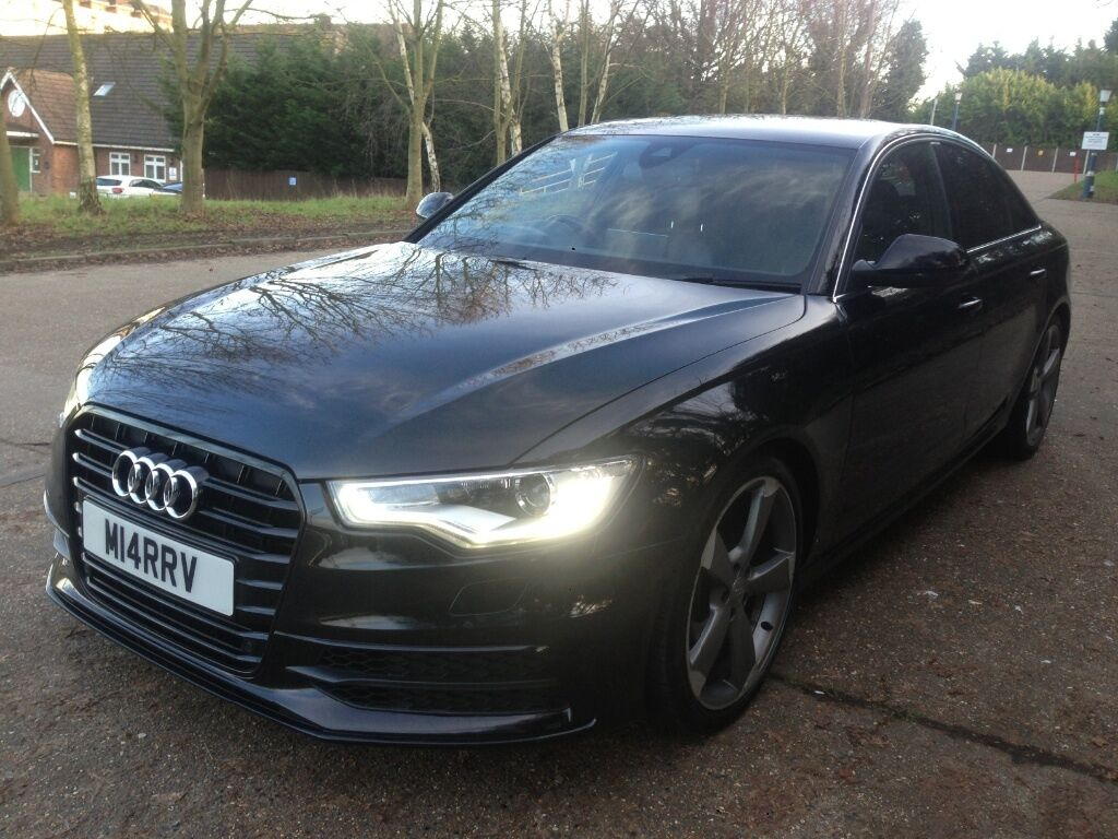 2011 audi a6 3 0 tdi s line black edition spec in dagenham london gumtree. Black Bedroom Furniture Sets. Home Design Ideas