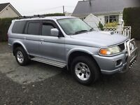 2006 Mitsubishi shogun sport 2.5 td great condition many extras trade in considered cookstown