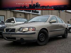 2002 Volvo S60 2.4L|2xRIMS&TIRES|SUNROOF|HEATED SEATS|DSTC
