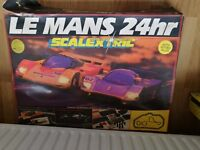 Scalextric Le Mans 24 hr Hour Vintage Retro Rare 1993 Set Porsche Mercedes C.440