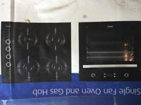 Unused, boxed fan assisted oven and gas job.
