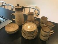 Denby 24 piece coffee set