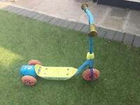 Toy story bubble scooter