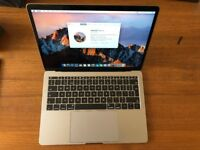 Macbook Pro 2017 non-touch bar i5 8gb 256gb ssd with Apple receipt
