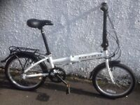 Carrera Transit. Unisex folding bike. Fully serviced, fully safe and ready to go.