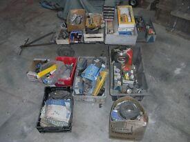 Collection of parts suit autojumbler
