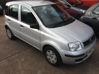 2008 Fiat Panda 1.2 Dynamic Silver 49k miles Service History MOT 2018 CD 2owners HPi Clear £1595