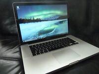 "Apple 15.4"" MacBook Pro Unibody 2.4GHz 4GB RAM 750GB - Mac OS X El Capitan, Windows 10 & Software"