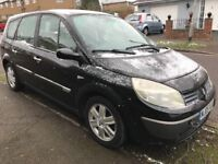Renault Grand Scenic Dynamique 16V 1598cc Petrol 5 speed manual 7 seat Estate 05 Plate 18/05/2005