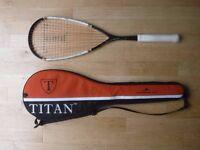 Squash Racket Titan TT Power Frame - As New