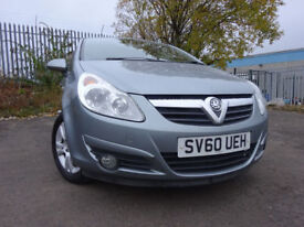 010 VAUXHALL CORSA 1.2 ENERGY,5 DOOR,MOT JUNE 018,3 OWNERS FROM NEW,PART HISTORY,2 KEYS,DRIVES GREAT